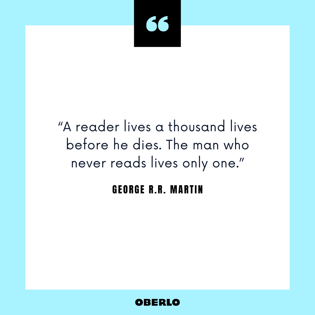 New Year's Resolution Tips: George R.R. Martin Quote