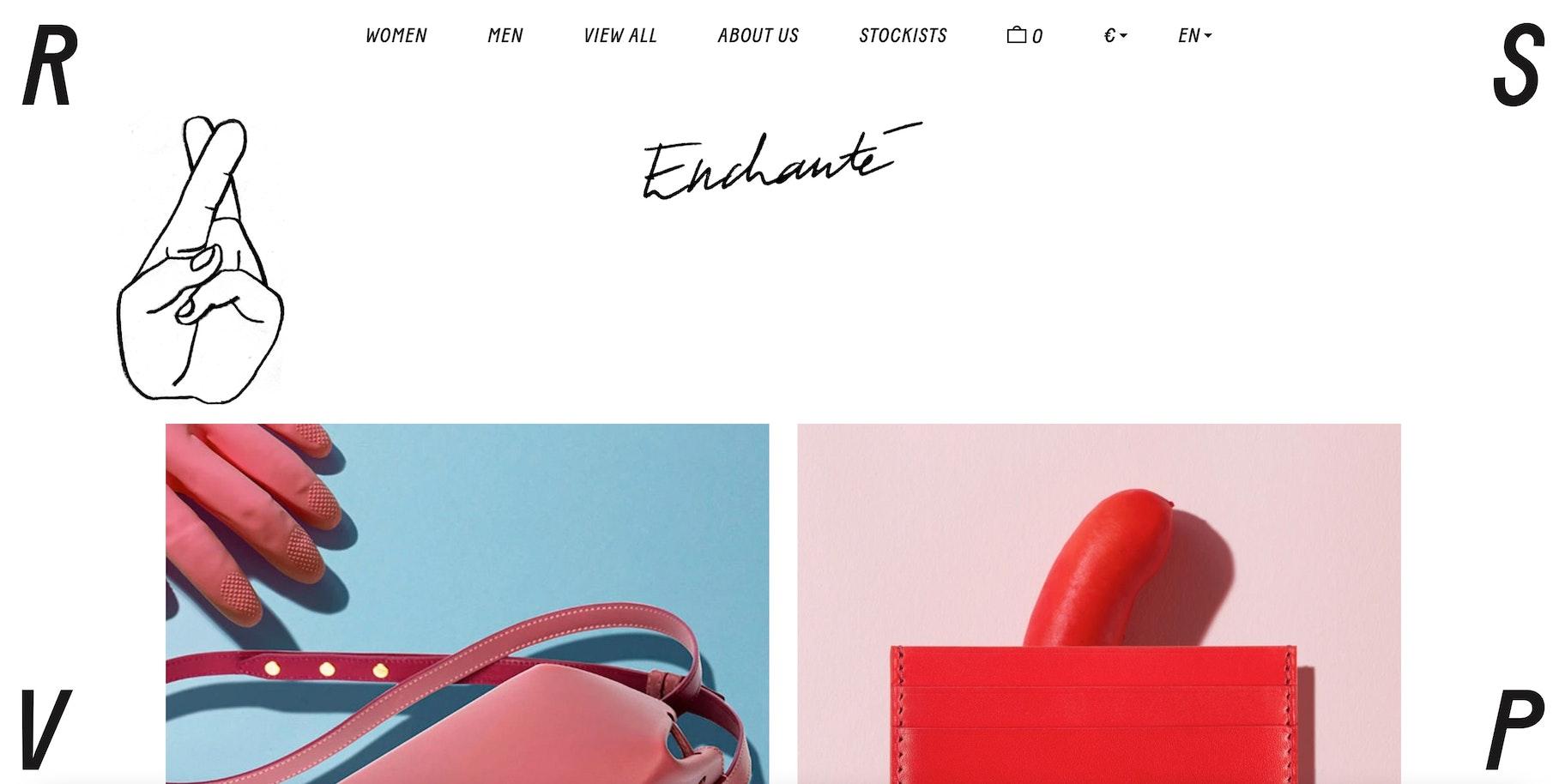 creative ecommerce website design