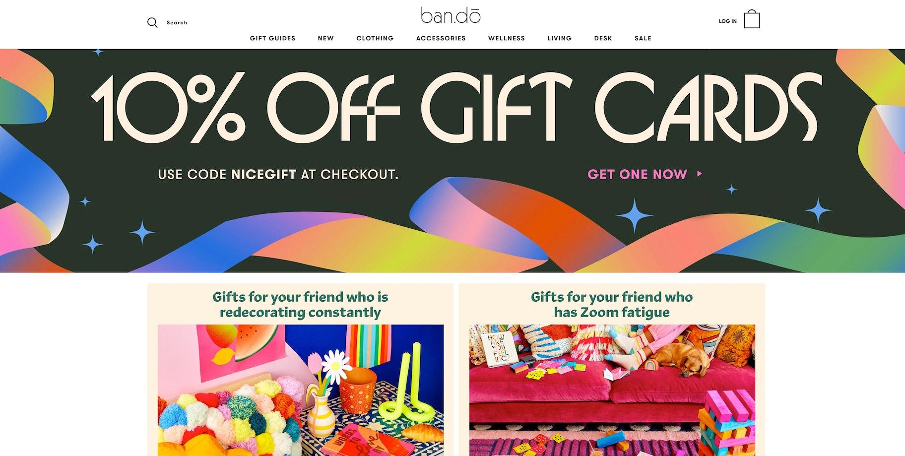ban.do Shopify store