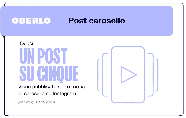 trend instagram 2021: carosello