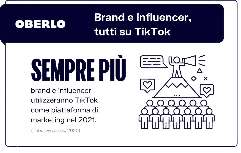 trend tiktok 2021: brand e influencer sulla piattaforma