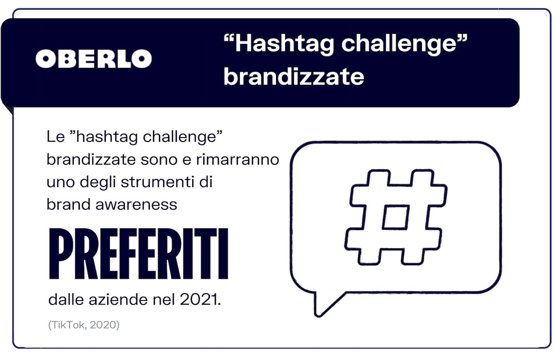 trend tiktok 2021: hashtag challenge