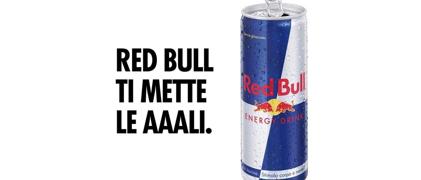 pubblicità redbull