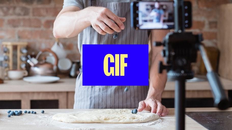 come creare una GIF