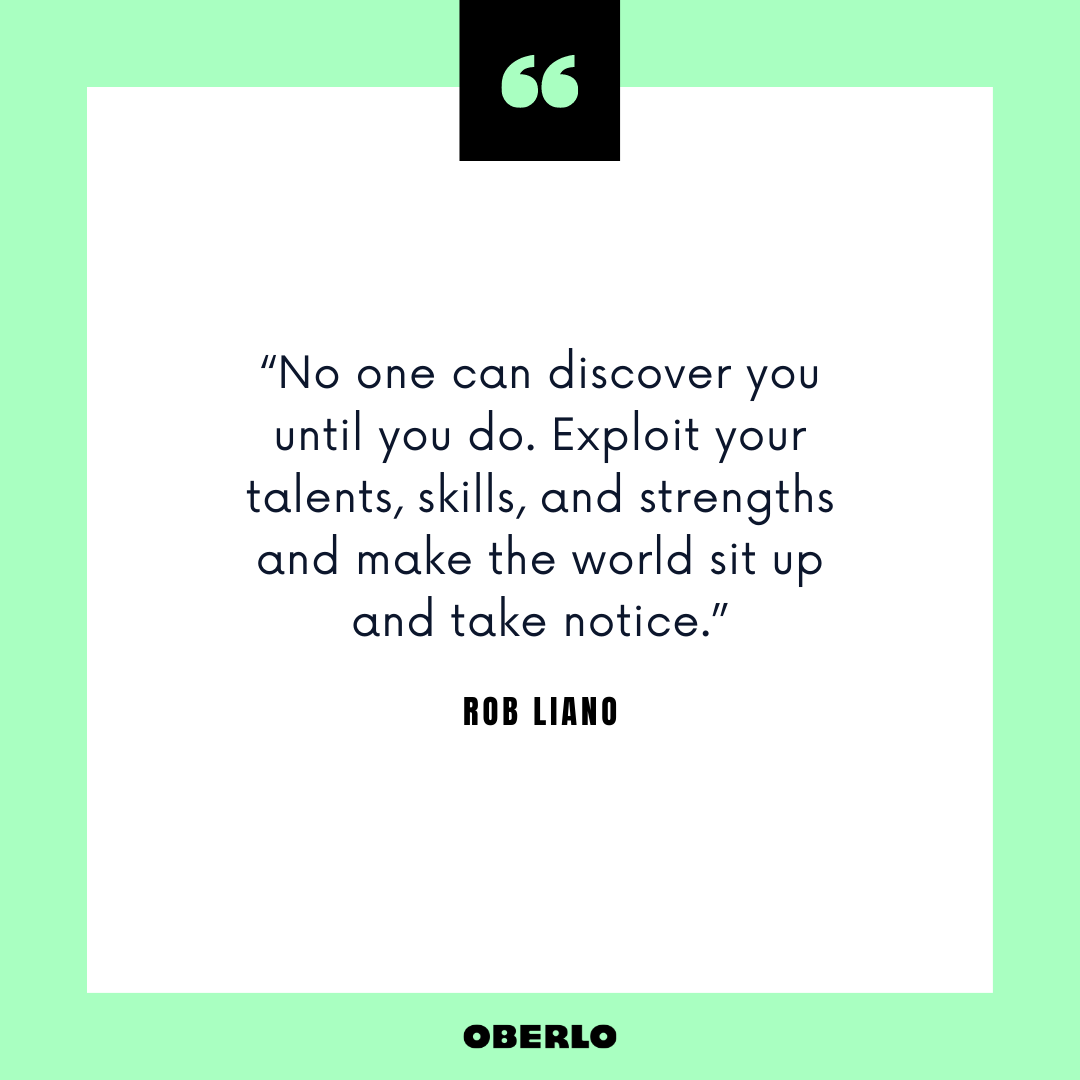 Career Change Advice: Rob Liano Quote