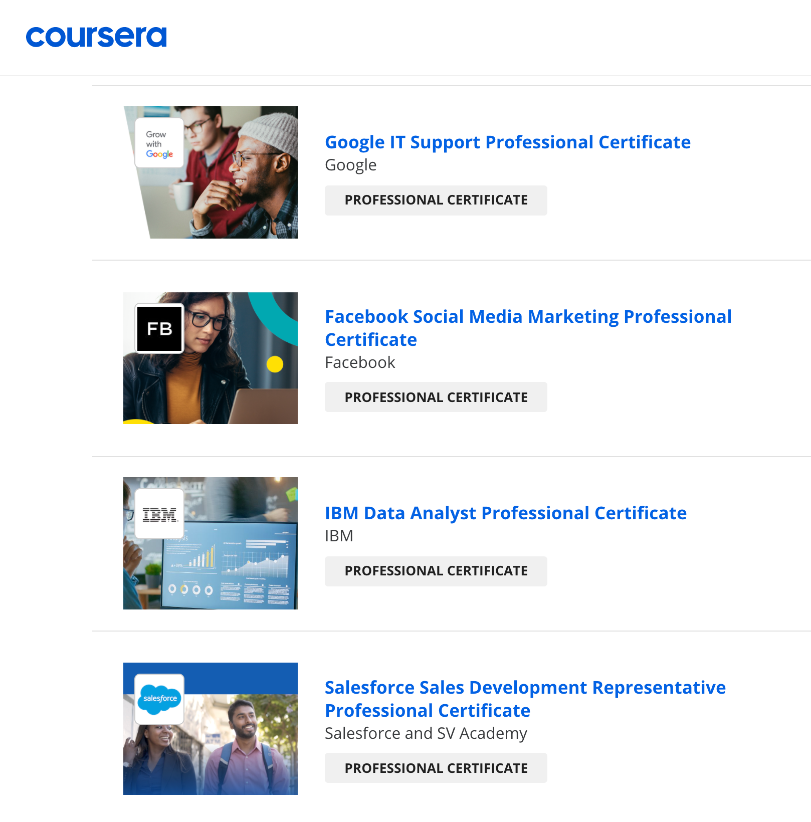 Career Change Requirements: Upskill with Coursera