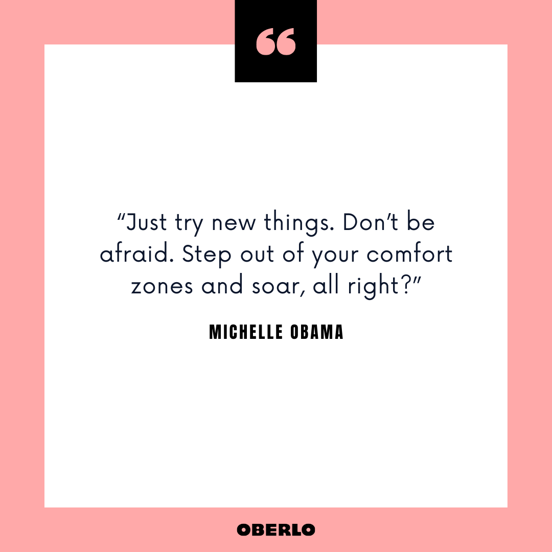 Mid-Career Switch Advice: Michelle Obama Quote
