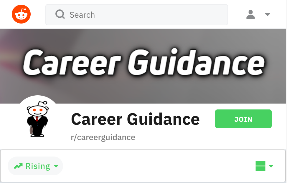 Career Change: Reddit Groups