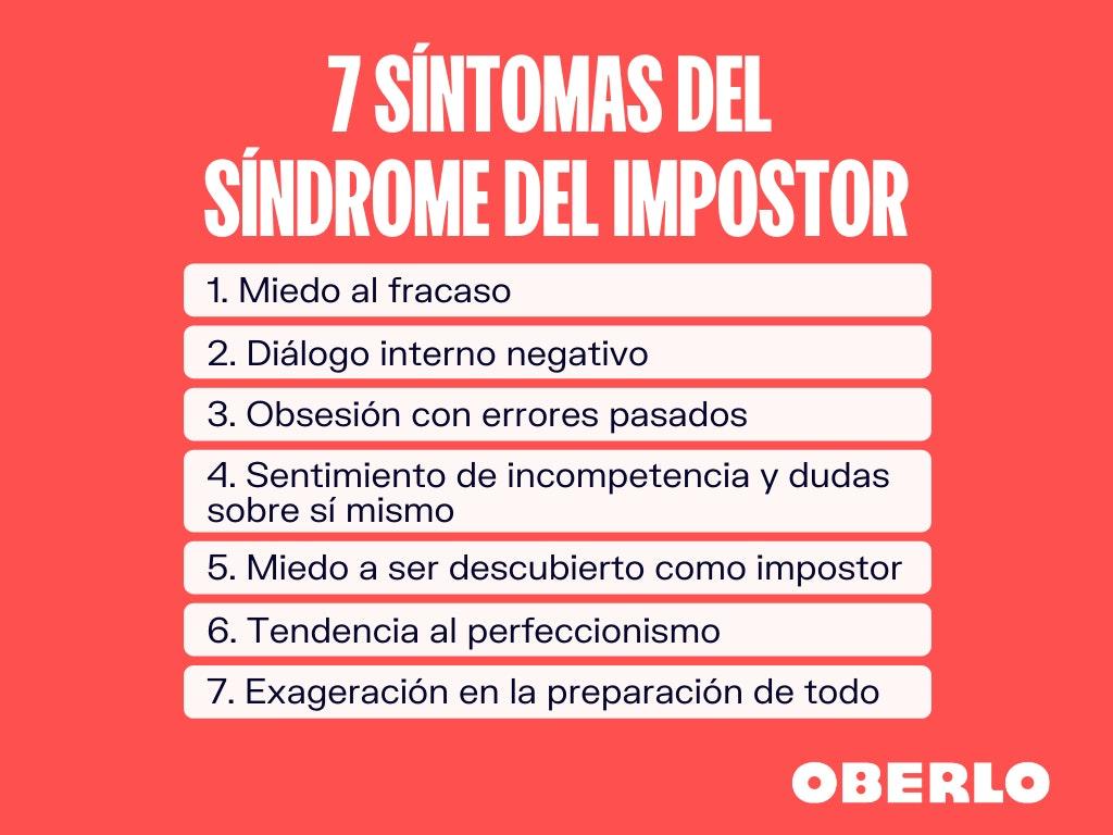 7 sintomas del sindrome del impostor