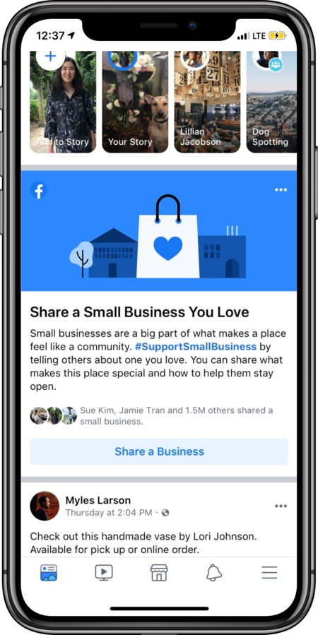 Promote Small Businesses on Facebook