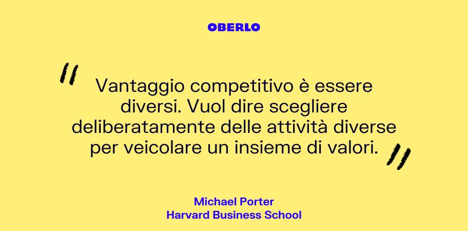 Vantaggio competitivo: Michael Porter