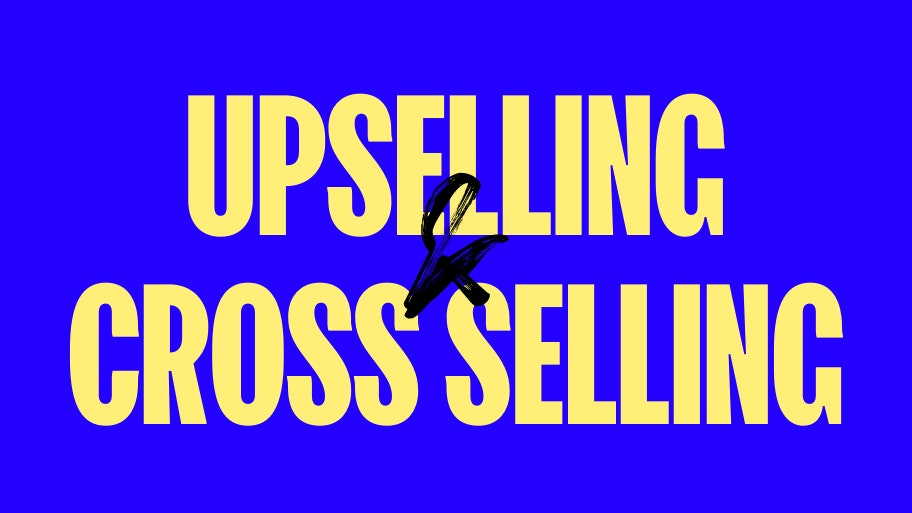 Upselling e cross selling