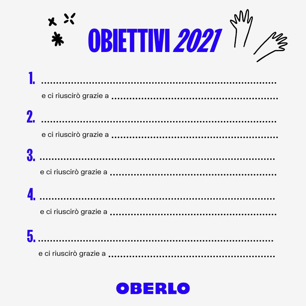obiettivi finanziari 2021
