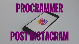 Programmer Post Instagram