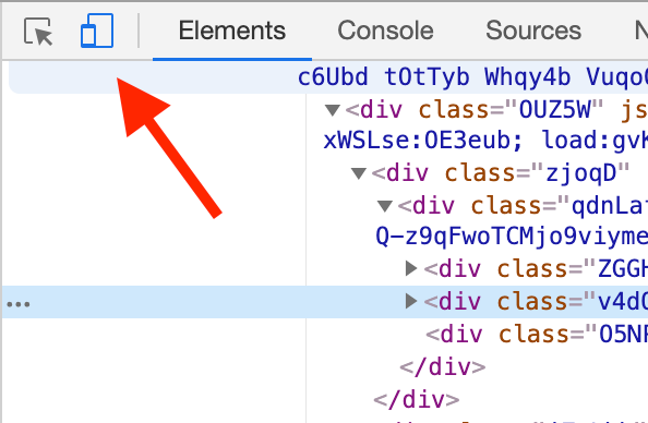 funzione Inspect su Google Chrome