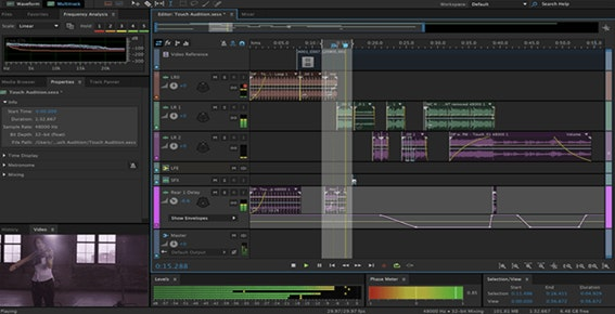 Editor de áudio profissional: Adobe Audition