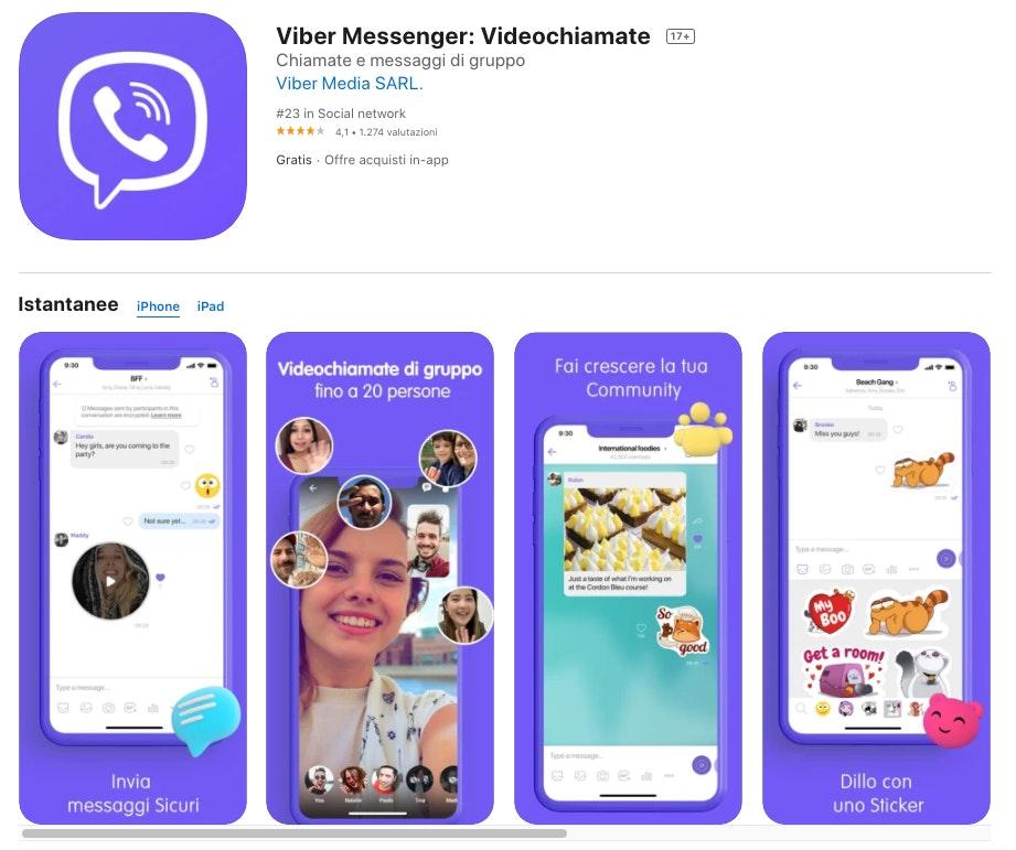 alternative a whatsapp: Viber messenger