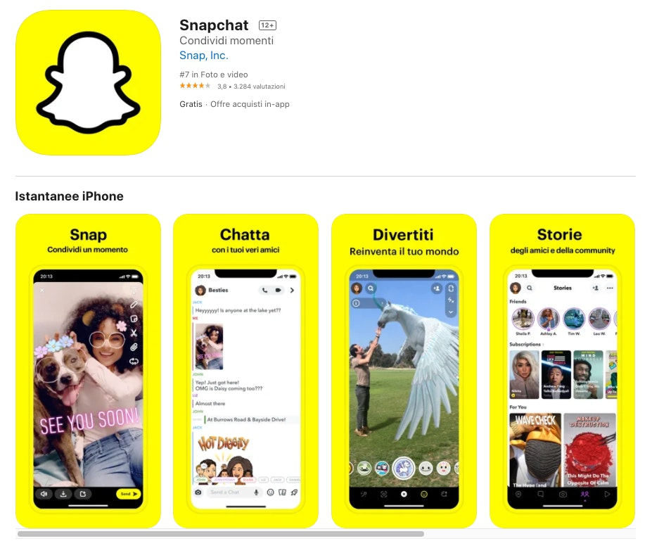 alternative a whatsapp: snapchat