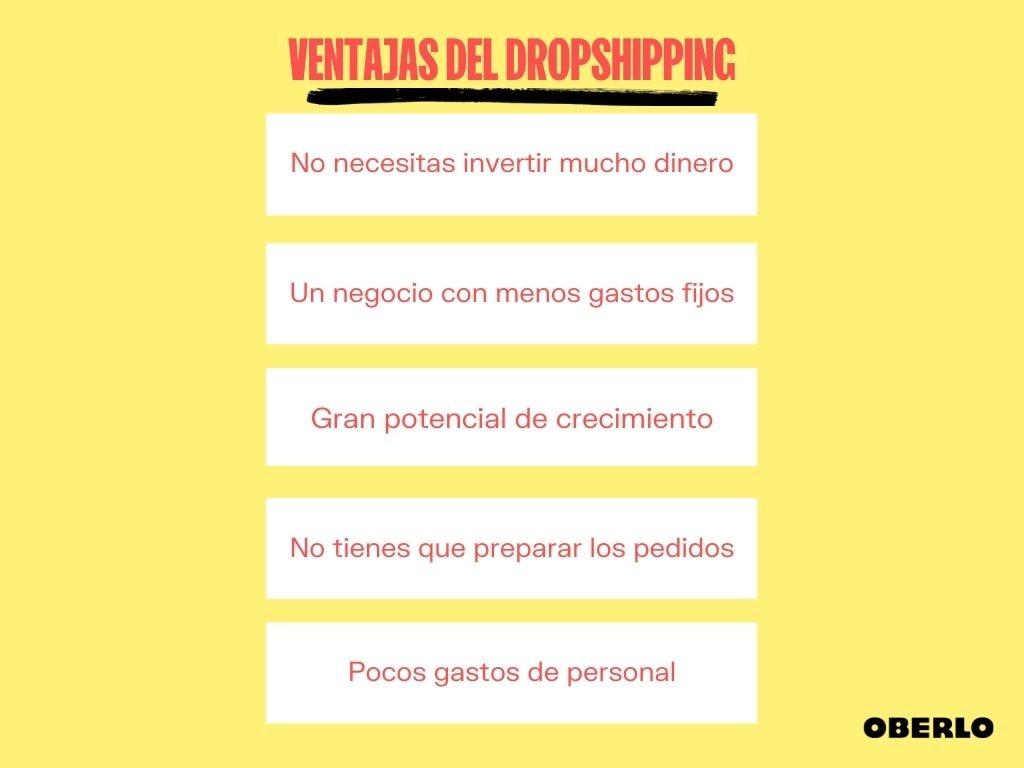 Ventajas del Dropshipping
