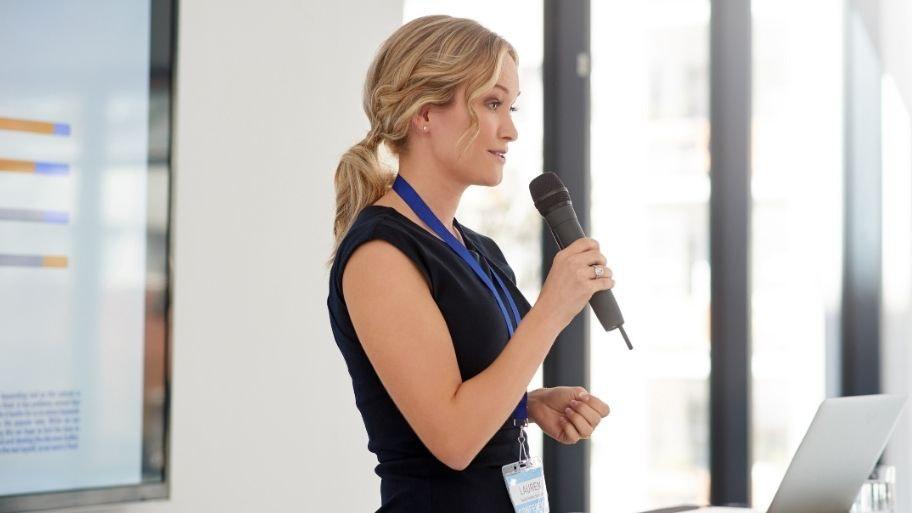 speaker evento