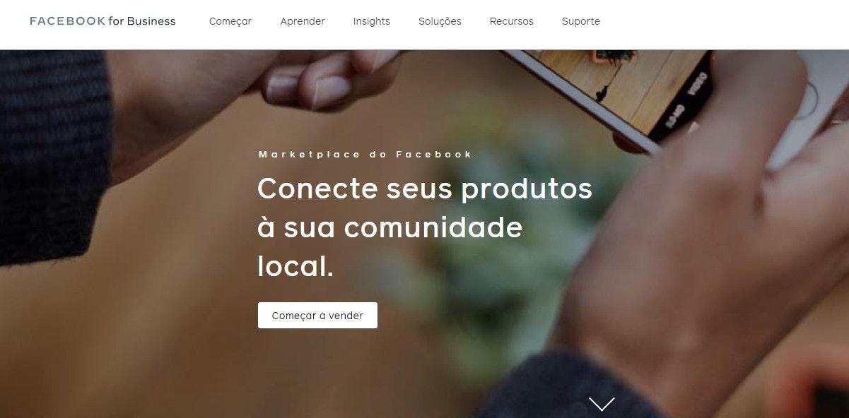 Site de compras: Marketplace do Facebook