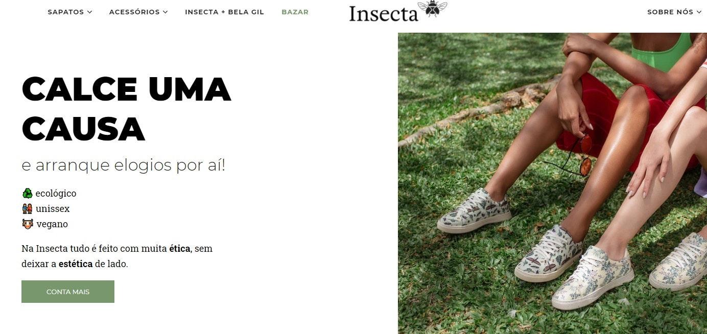 Insecta Shoes: sites de compras online