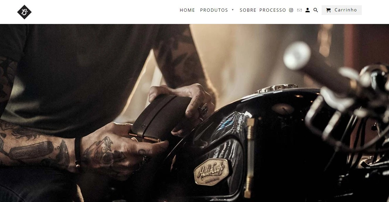 Site de compras: Braveman