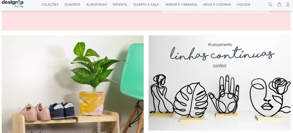 Site de compras: Design Up Living