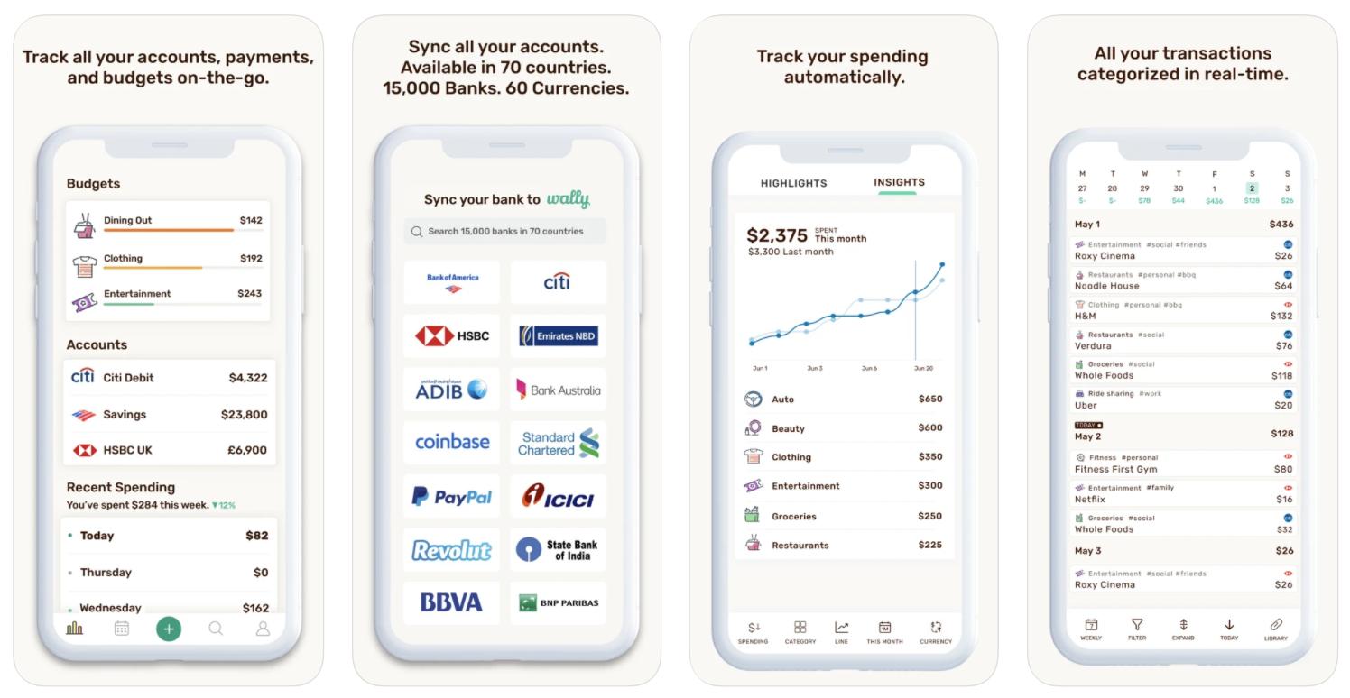 free budget app wally