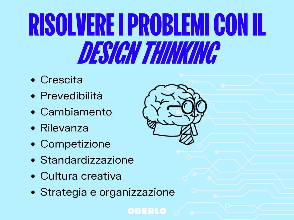 risoluzione dei problemi con il design thinking