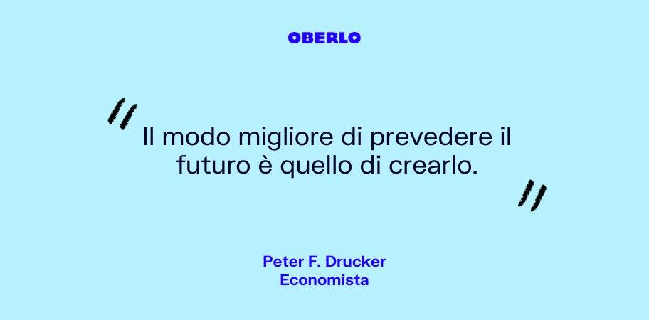 citazione peter f. drucker