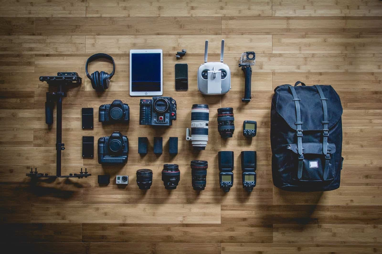 Photography Business Equipment via Unsplash