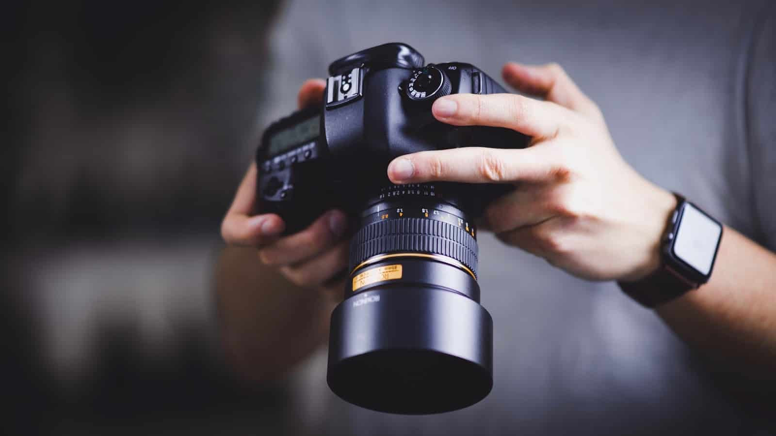 Photography Camera via Unsplash