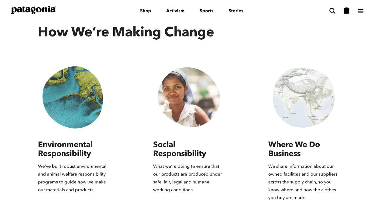 Social Entrepreneurship Example Patagonia