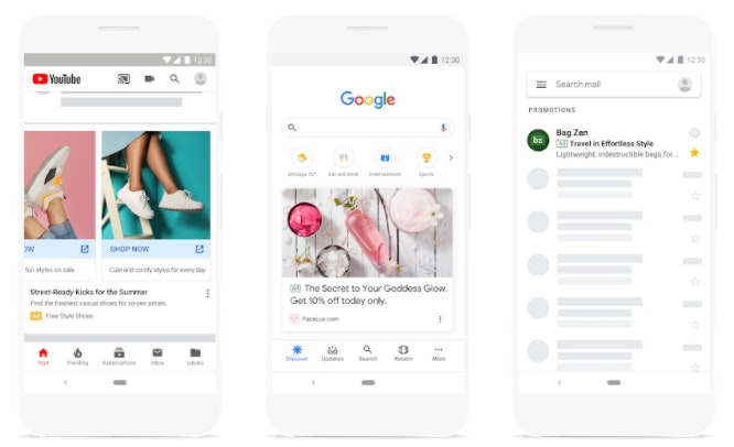 exemple Annonce Google Ads discovery