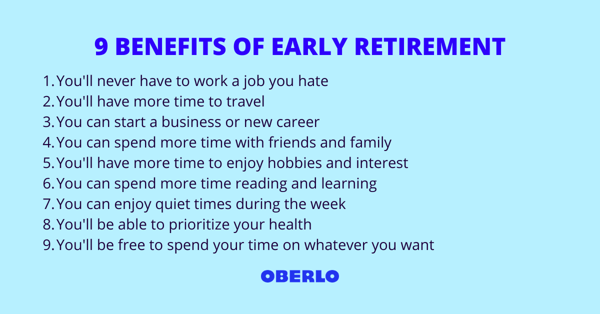 9 Benefits of Early Retirement