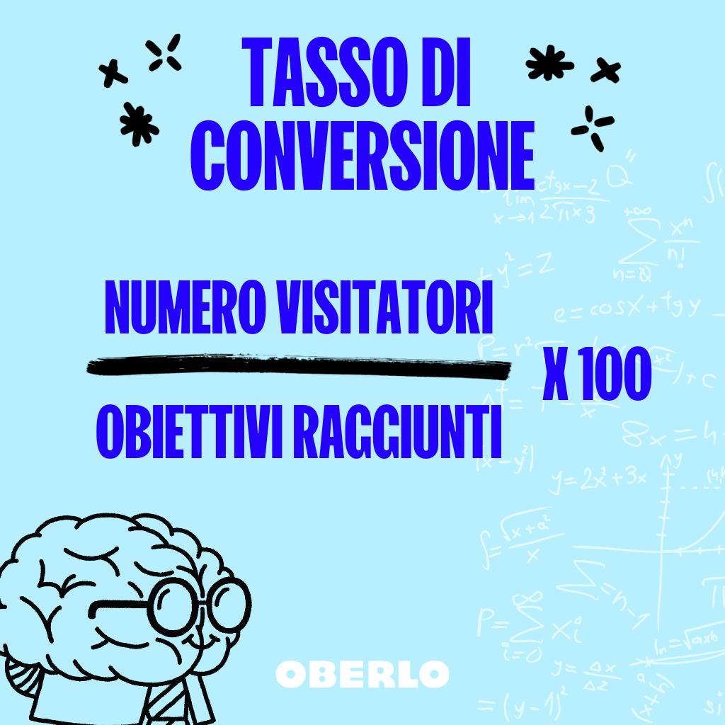 tasso di conversione