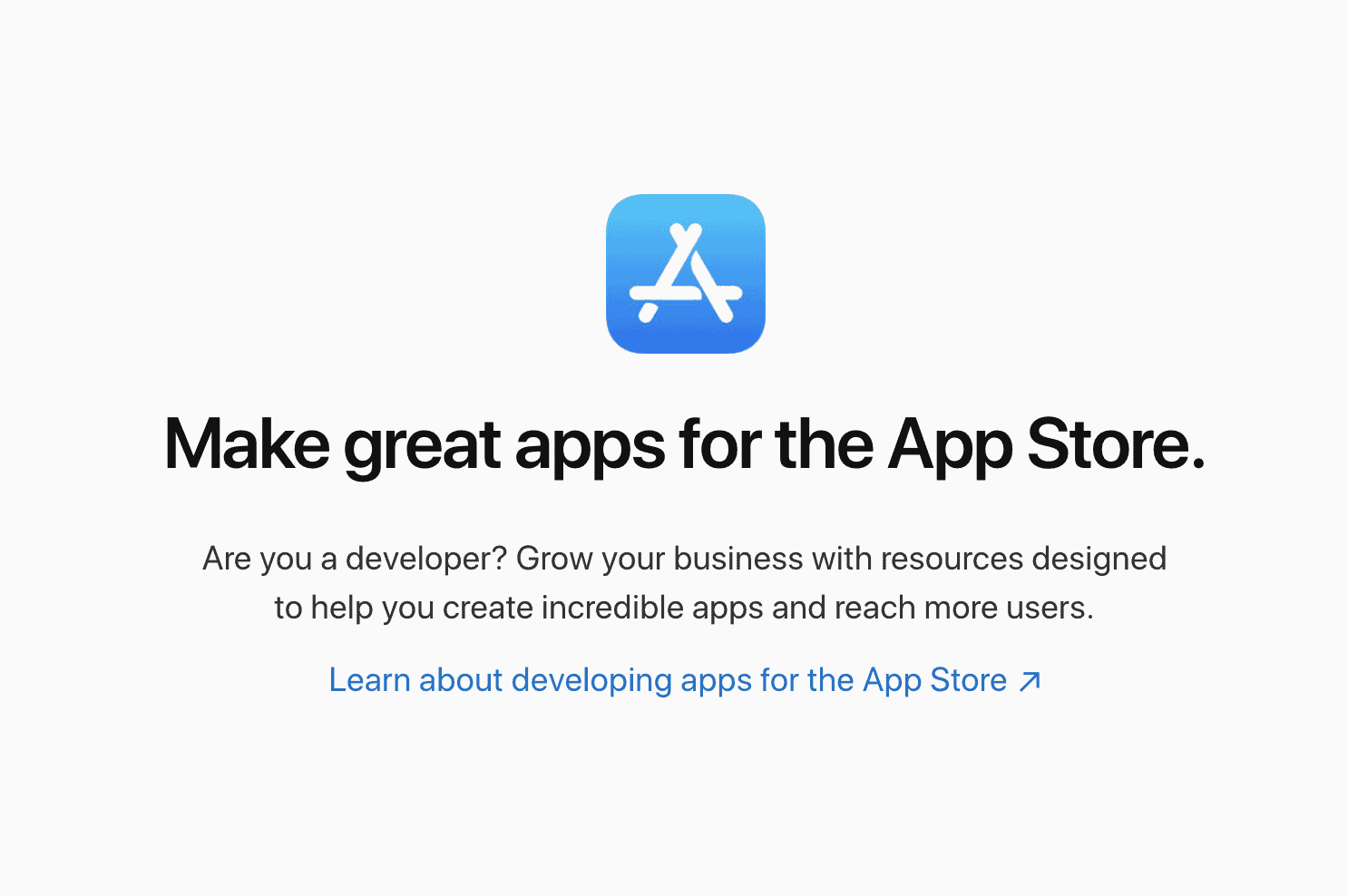 Make an App for Apple's App Store