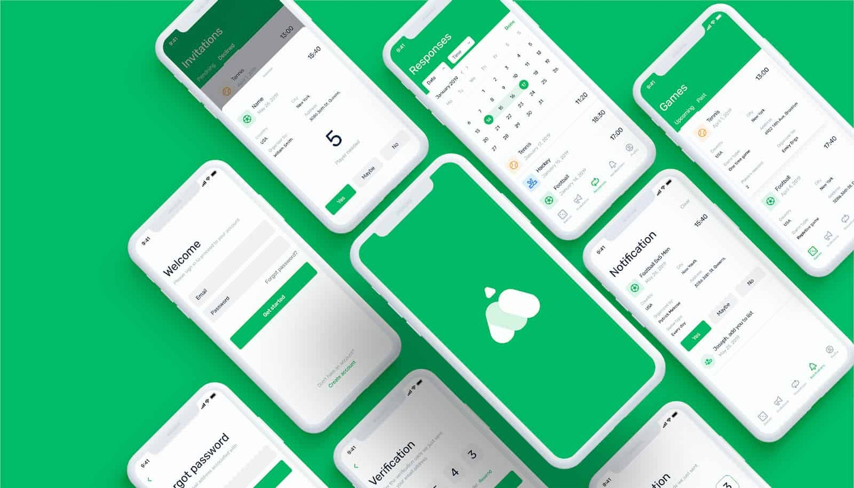 Creare un'app – mockup