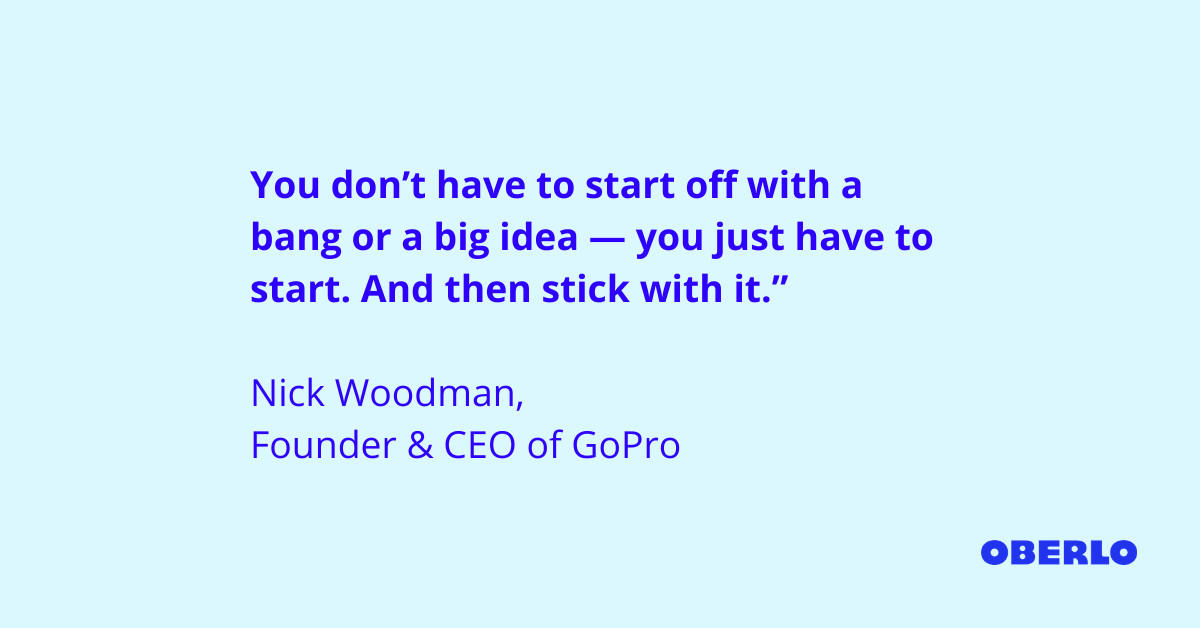 Nick Woodman Quote
