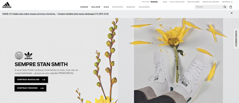 Missão, visão e valores da Adidas