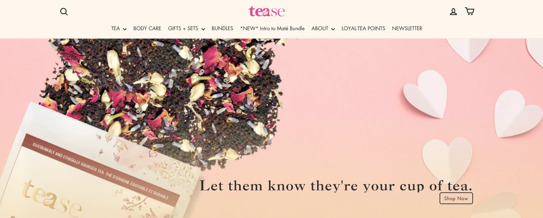 teaste tea website