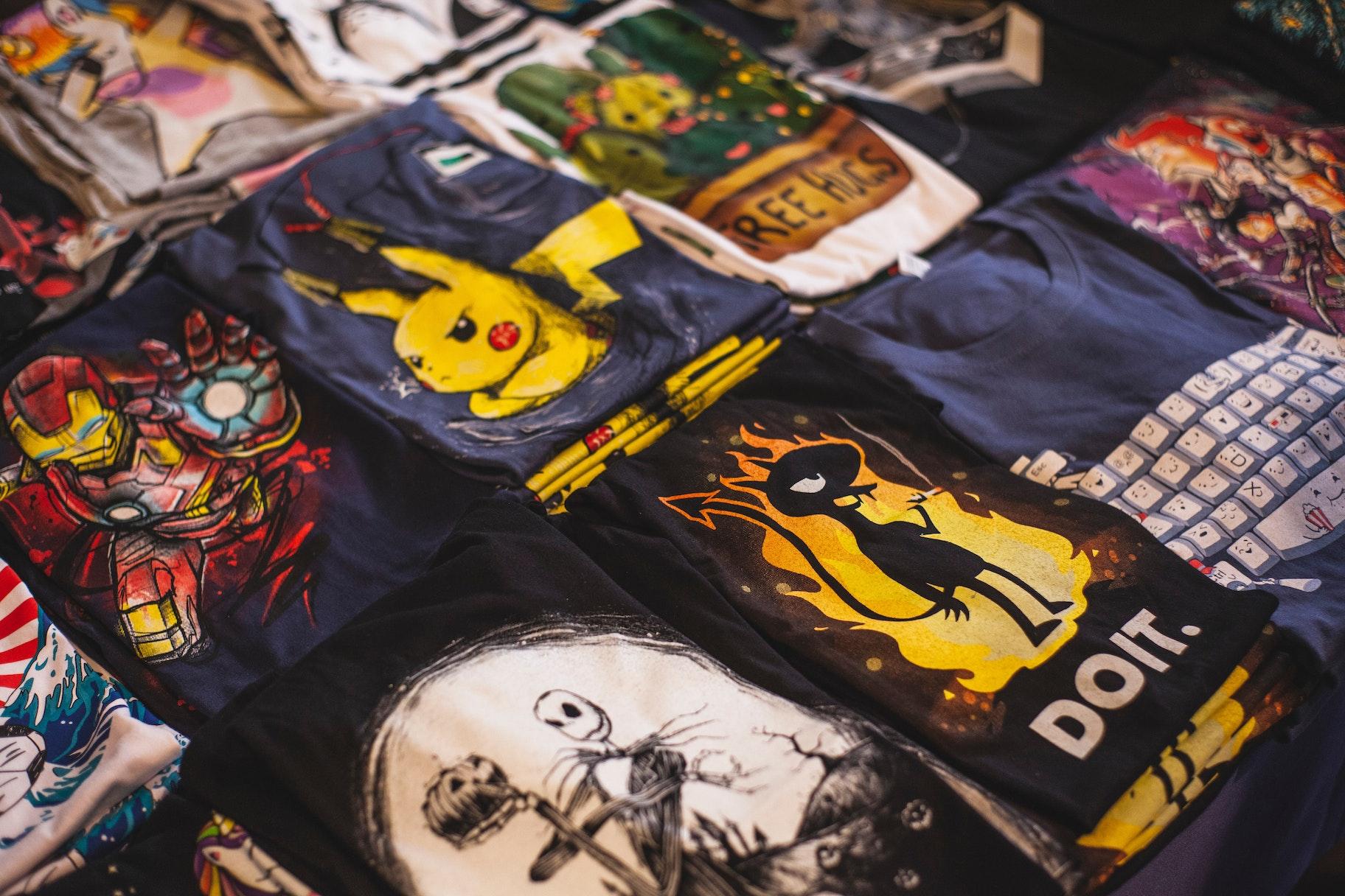 T-Shirt Business - T-Shirt Auswahl