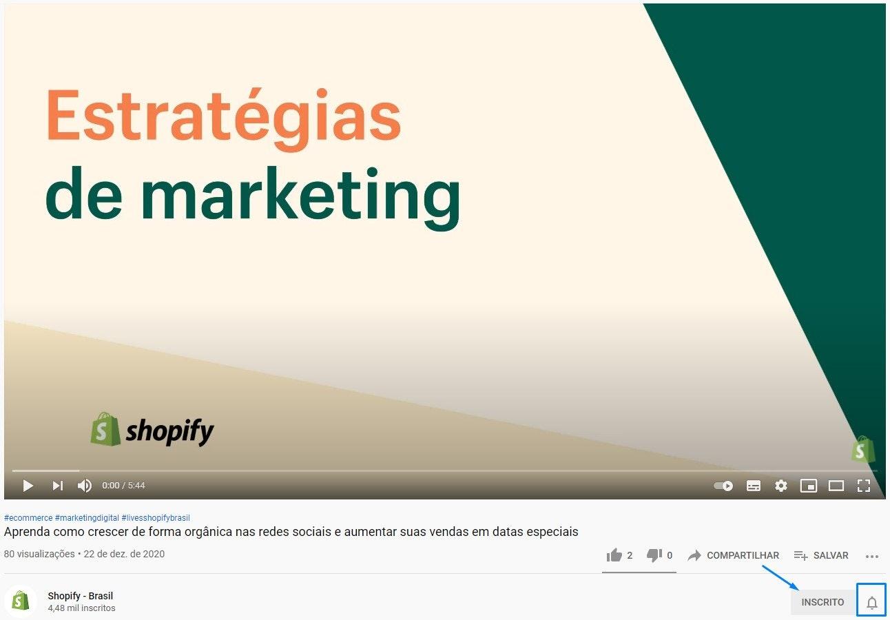 Como ganhar visualizações no YouTube: incentive os usuários a se inscreverem no canal