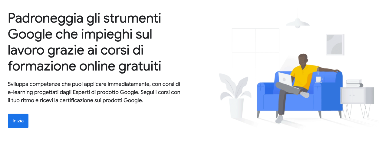 Corsi online gratuiti: Google Skillshop
