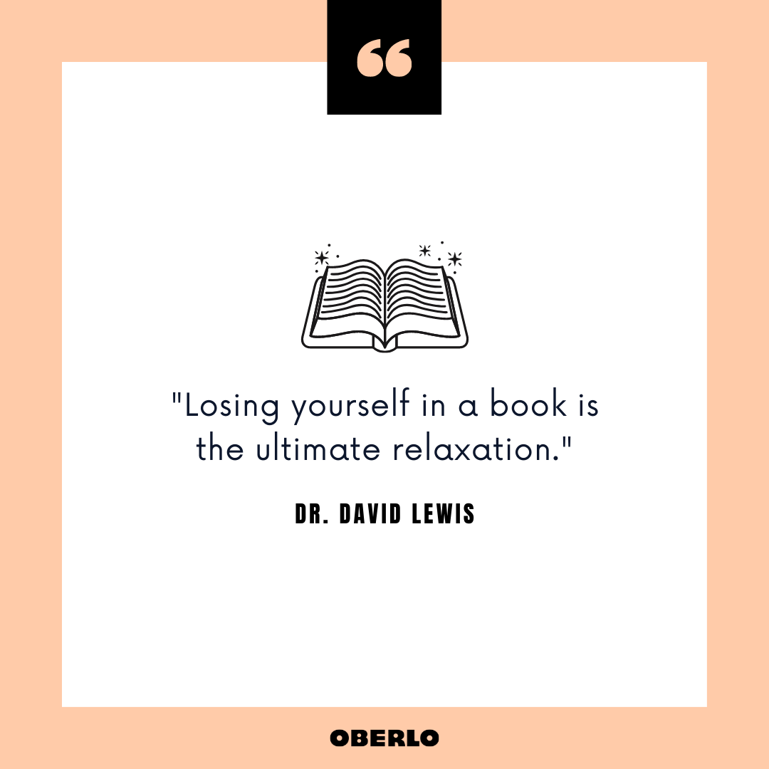 What Are the Benefits of Reading Books: Dr. David Lewis Quote