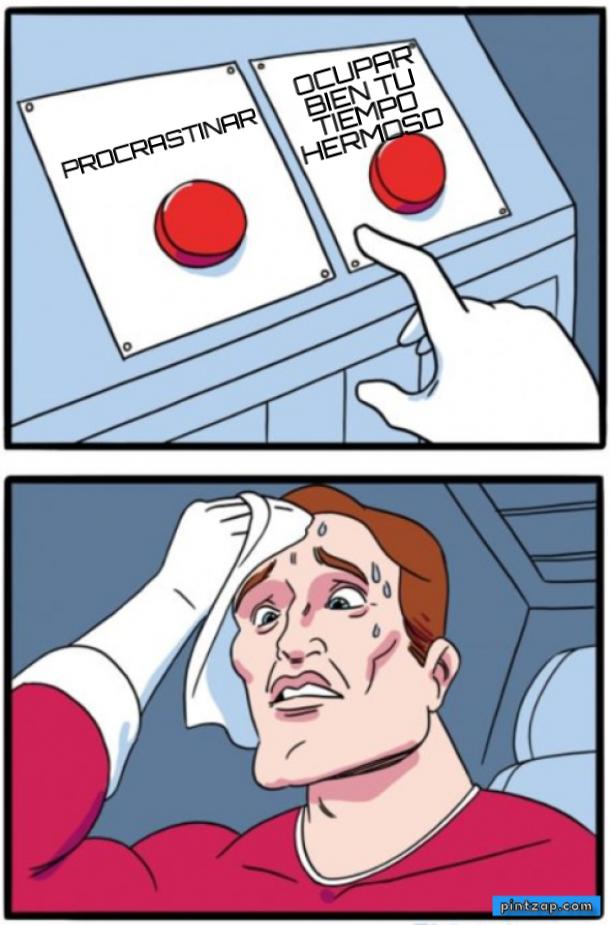 procrastinar meme