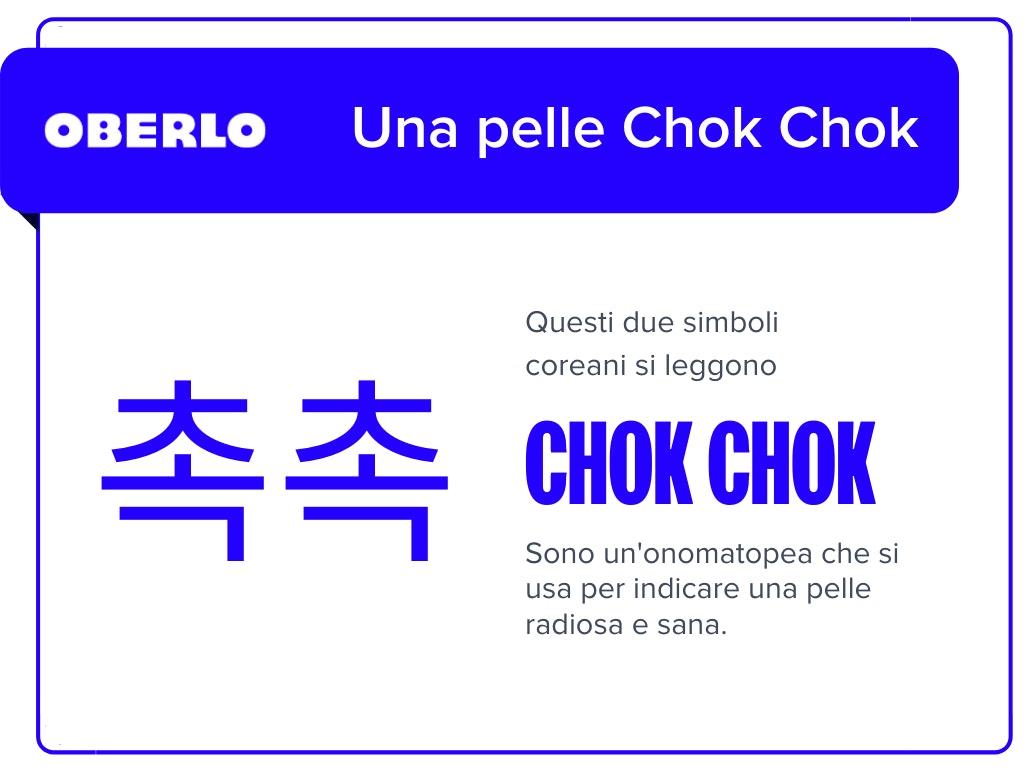 Significato chok chok