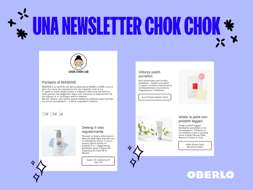 newsletter chok chok lab