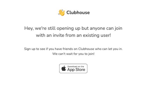 sito di clubhouse
